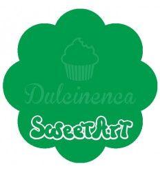 Fondant verde SweetArt/Pastkolor 250gr