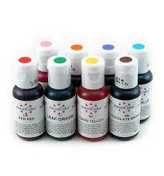 Pack colorantes en gel Americolor 8 colores