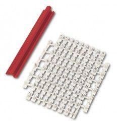Estampador marcador de letras imprenta