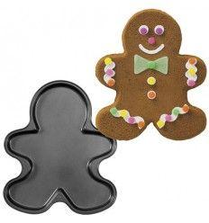 Molde para bizcochos o galletas muñeco gigante