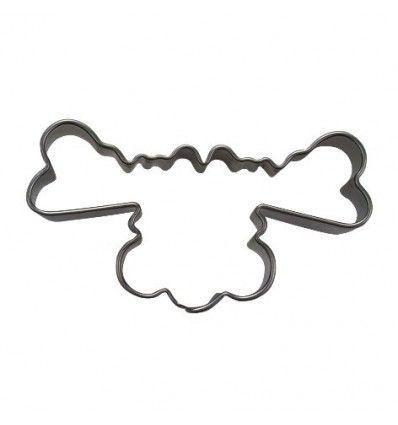 Cortador galletas cabeza de reno 6cm