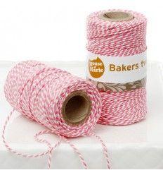Bakers Twine Rosa, 20 metros
