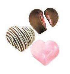 Molde para bombones corazones