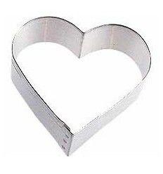 Cortador corazón 7,5 cm