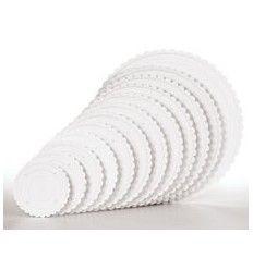 Plato separador canto ondulado 20,3 cm 1Ud