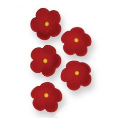 Flores comestibles Rojas 30 ud
