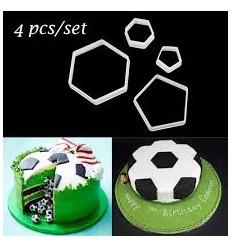 Cortadores pelota de futbol