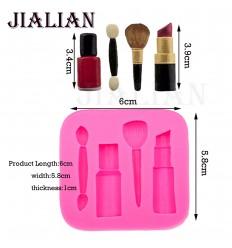 Molde de silicona maquillaje