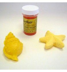 Colorante Sugarflair amarillo (egg yellow) - 25gr