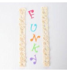 Cortadores FMM regla letras y números