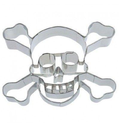 Cortador calavera pirata 9 cm